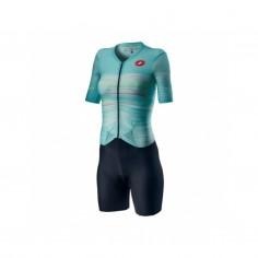 Tritraje Castelli Integral PR W Speed Suit Aguamarino Mujer