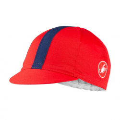 Castelli Expresso Red Cap