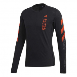 Adidas Fast Graphic Men's Long Sleeve T-Shirt