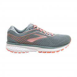 Zapatillas Brooks Ghost 12 Gris Rosa PV20 Mujer