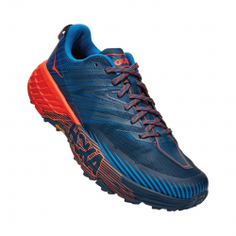 Hoka One One Speedgoat 4 Blue Orange SS20 Men's Running Shoes