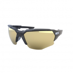 KOO Orion Matte Black Glasses Molky Gold Lens