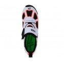 Zapatillas Spiuk Trivium blanca y naranja hombre