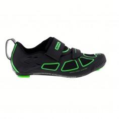 Zapatillas Spiuk Trivium negro y verde hombre