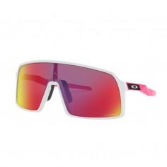 Gafas Oakley Sutro Prizm Road Blanco Rosa