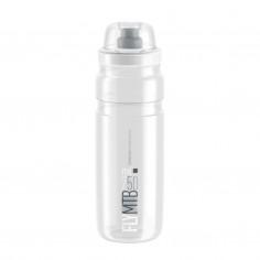 Elite Fly MTB Transparent Bottle Logo Gray 750 ML
