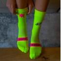 Sporcks Triathlon Laura Philipp kick Ass Yellow socks