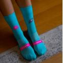 Sporcks Triathlon Laura Philipp Kick Ass Blue Socks