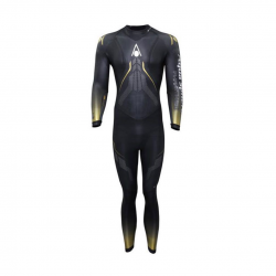 Phantom 2.0 Aqua Sphere Black Yellow Wetsuit for Men