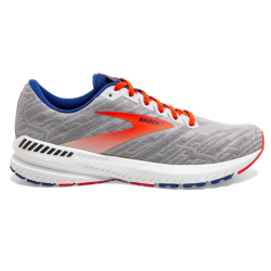 Brooks Ravenna 11 Gray Red SS20 Men's Running Shoes