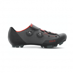 Zapatillas Fizik Infinito X1 Negro Rojo