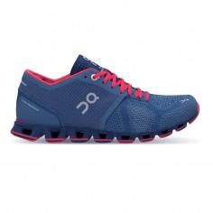 On Cloud X Coral Blue Women's Shoes