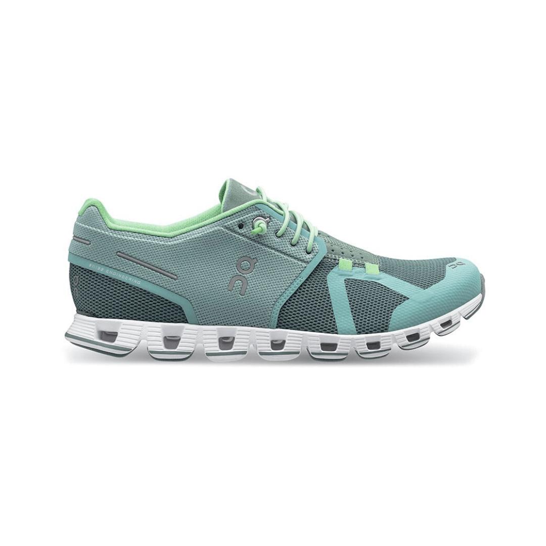 on cloud shoes blue