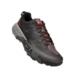Zapatillas Hoka One One Speedgoat 4 Wide Ancho Gris Negro PV20 Hombre
