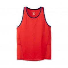 Camiseta Brooks Stealth Singlet Rojo Azul