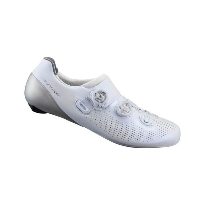 Zapatillas de carretera Shimano RC9 S-PHYRE Blanco