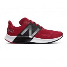 Zapatillas New Balance 890 v8 Rojo Negro Gris OI20