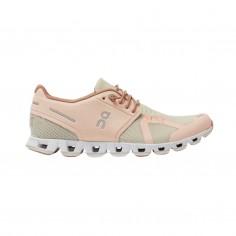 Zapatillas On Cloud Rosa Marrón Claro Mujer