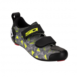 Zapatillas Sidi T-5 Air Carbon Gris Amarillo