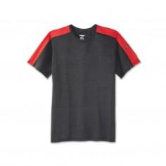 Brooks Distance Short Sleeve Red T-shirt