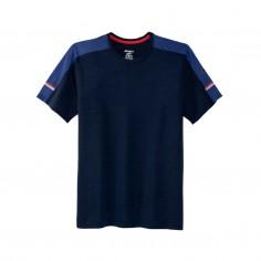 Brooks Distance Short Sleeve Blue T-shirt