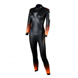 Neopreno Michael Phelps Pursuit 2.0 Negro Naranja Mujer