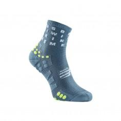 Compressport ProRacing V3.0 Running High Cut Socks Gray