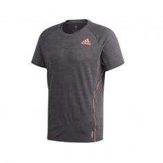 Camiseta Adidas Adi Runner Tee Gris Hombre