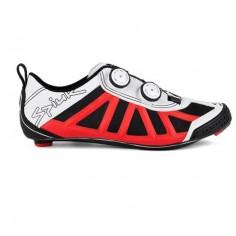Zapatillas de triatlón Spiuk Pragma Rojo Blanco
