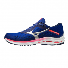 Mizuno Wave Rider 24 Blue Pink AW20 Men's Shoes
