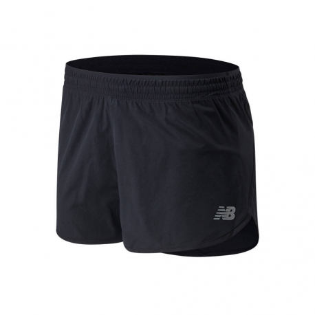 Shorts New Balance Accelerate 2.5 IN Short Black Woman