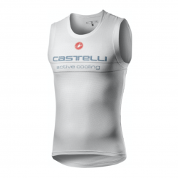 Castelli Active Cooling Sleeveless Base Layer White Man
