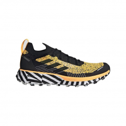 Adidas Terrex Two Parley Shoes Black Yellow AW20