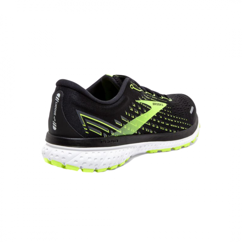 Brooks Ghost 13 Black Yellow AW20 Shoes