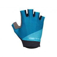 Guantes Castelli Roubaix Gel 2 Azul Mujer