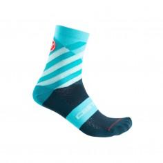 Castelli Talento Blue Socks Woman