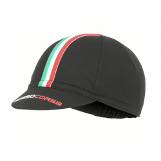 Castelli Cycling Rosso Corsa Black Unisex Cap
