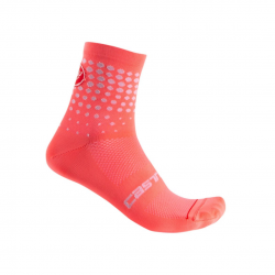 Calcetines Castelli Puntini Rosa Mujer