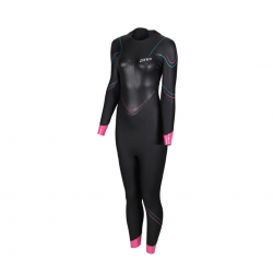 Zone3 Value Black Pink Women's Wetsuit