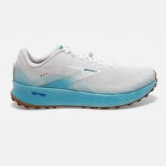 Zapatillas Brooks Catamount Blanco Azul OI20 Hombre
