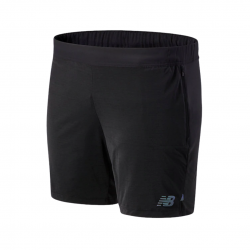 Shorts New Balance Q Speed Fuel Black AW20 Man