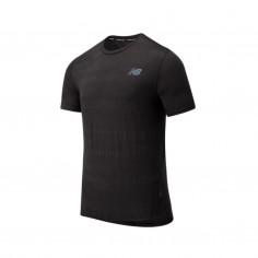 New Balance Q Speed Fuel Jacquard SS Black AW20 Men's Shirt