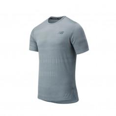 New Balance Q Speed Fuel Jacquard SS Gray AW20 Men's Shirt