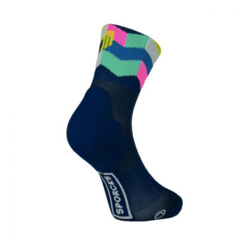 Sporcks Art Blue Sock