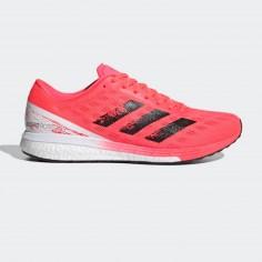 Adidas Adizero Boston 9 Pink White AW20 Men's Running Shoes
