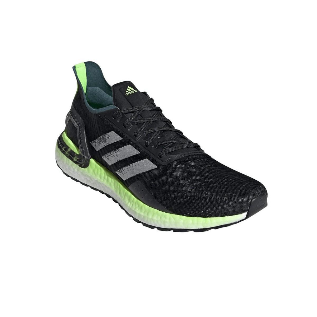adidas boost hombre running verde
