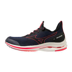Mizuno Wave Rider Neo Shoes Navy Blue Coral AW20 Man
