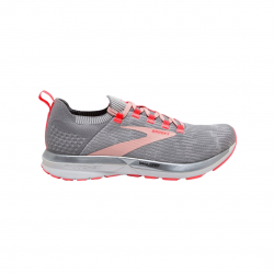 Brooks Ricochet 2 Shoes Coral Gray AW20 Woman