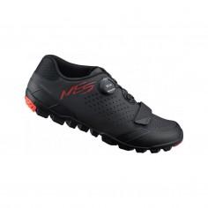 Zapatillas Shimano ME501 MTB Negro Rojo Hombre