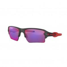 Oakley Flak 2.0 XL matte gray smoke Prizim Road cycling glasses